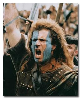 Celtic Warriors Pics Blue Painted Faces