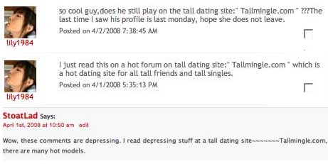 Headlines for dating sites for guys