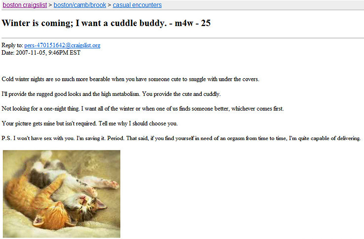 Best craigslist sex