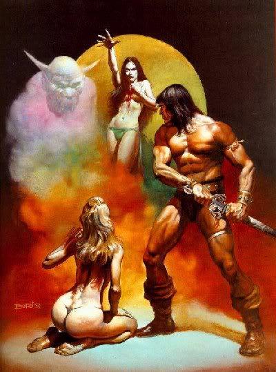 the with women barbarian Conan