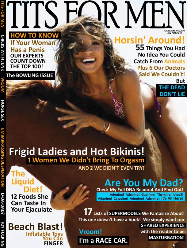 Tits for men magazine