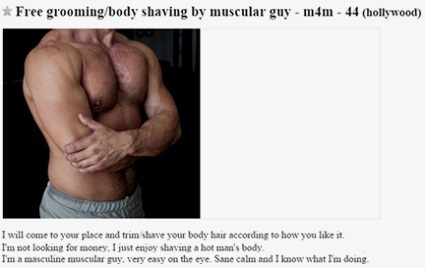 what does m4m mean on craigslist