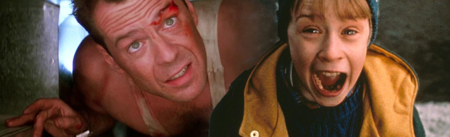 Die Hard and Home Alone Are The EXACT Same Movie