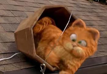 Odie Garfield Movie