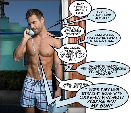 Dad son gay comics