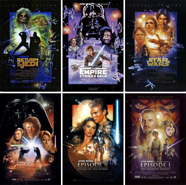 the best order to watch the star wars movies