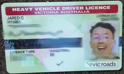 how to change drivers license australia