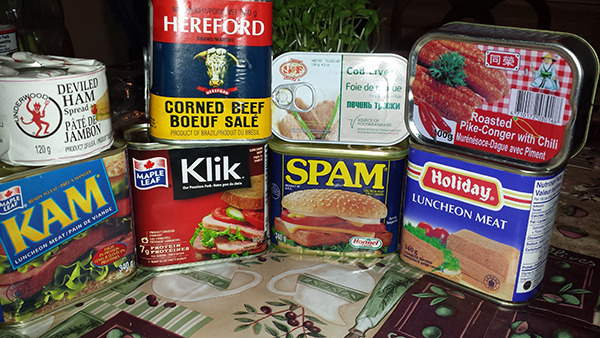 How did canned spam get its name