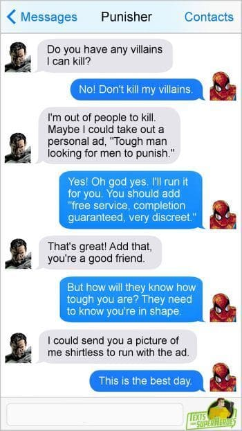 20 Extremely Real Texts From Superheroes