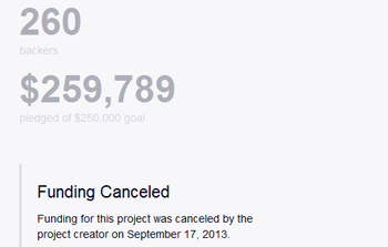 What Does a Kickstarter Failure Look Like? : Games - reddit