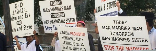 Christian anti homosexuality