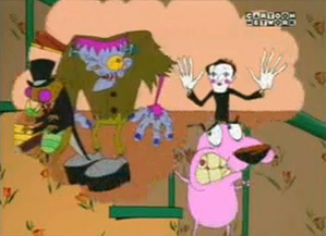 Courage The Cowardly Dog Right In The Childhood