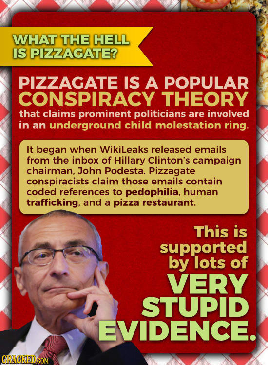Image result for pizzagate