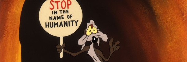 Wile e coyotes horrifying secret a fan theory cracked wile e coyote is exceptionally verbose his clones not so much colourmoves