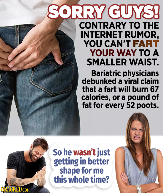 Farts, Flu, Friendship, And Other Breaking Health News