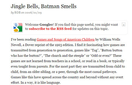 Jingle Bells Batman Smells Goes Back To At Least The 60s