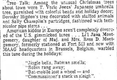 lawton constitution - Simply Having A Wonderful Christmas Time Lyrics