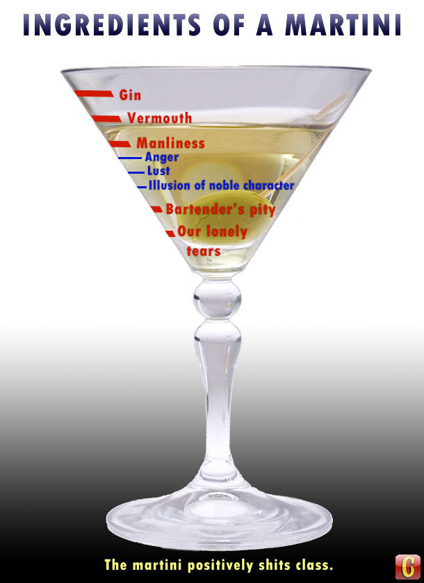 why the martini is the greatest drink ever poured