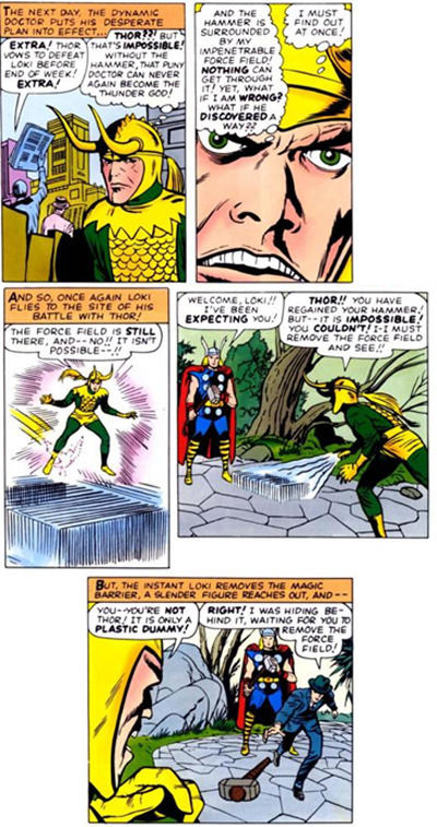 Marvel Comics Its Not Cool To Make Fun Of My Lack Depth Perception