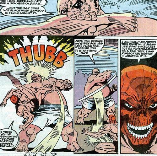 Marvel comic naked