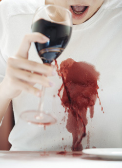 7 normal things that become horror movies under a for Wine stain white shirt