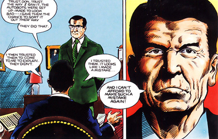 Image result for ronald reagan comic books