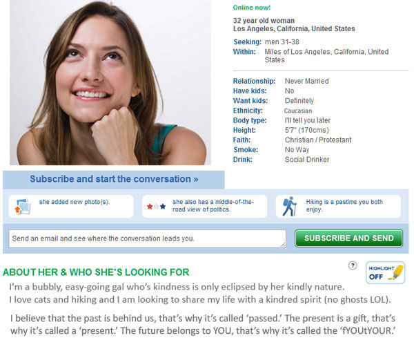 dating personality compatibility test