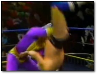 Dick Pro slips wrestling