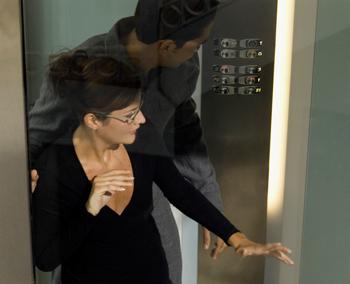 people stuck in elevator. medioimages/photodisc/photodisc/getty images \ people stuck in elevator