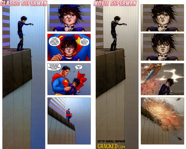 How Zack Snyder Gets The Modern Superman Wrong Cracked Com