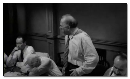 List four effective and four ineffective examples of persuasive techniques from Twelve Angry Men.
