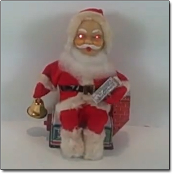advertisement - Creepy Christmas Decorations