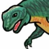 Dumb Dinosaur Cracked photo