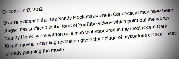 6 Horrifying Realities Of Dealing With Sandy Hook \'Truthers ...