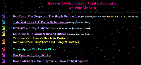an essay on heavenly gate cult The leaders of heaven's gate cult, bonnie and marshall  find this pin and more on heavens gate religious group by brenda  essay about islamic culture and .