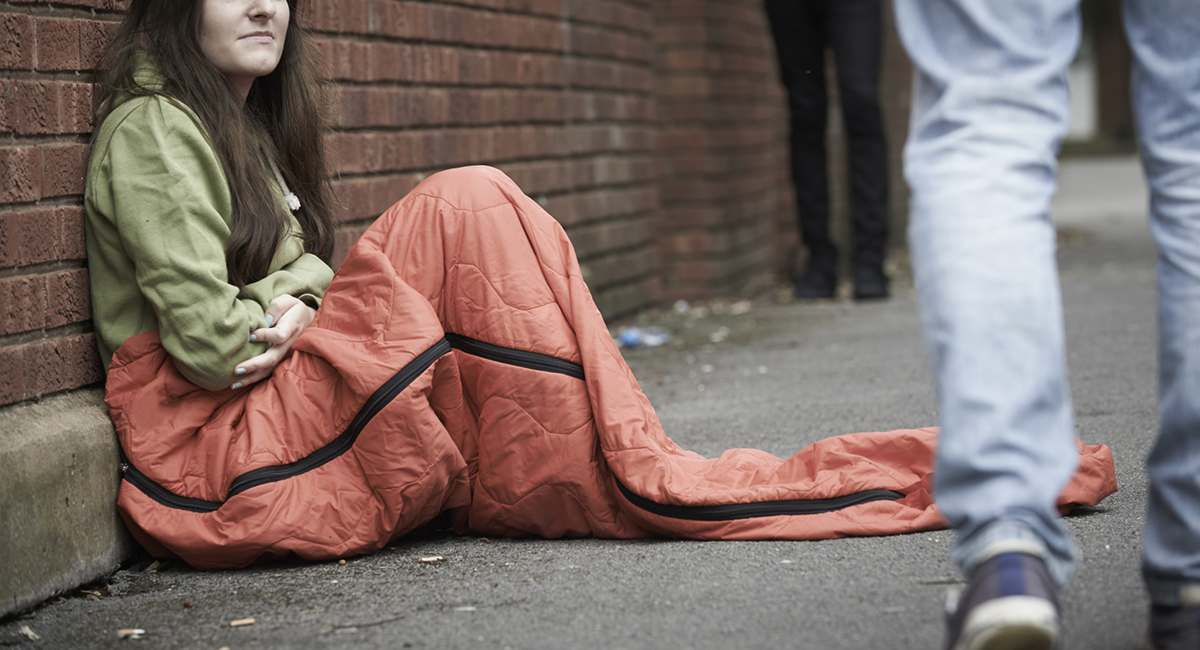 Homeless Girl Best About Hookup Thing A Honest