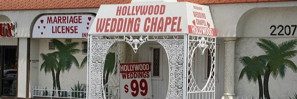 The Local Government Enables Irresponsibly Impulsive Weddings