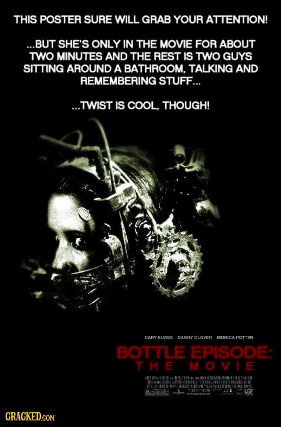 If Horror Movie Posters Were Forced To Be Honest | Cracked.com