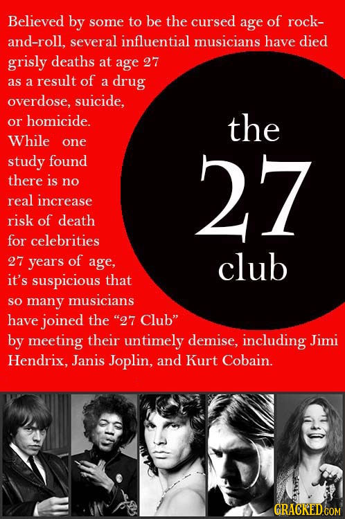 "The ""27 Club""…Curse or Coincidence?"