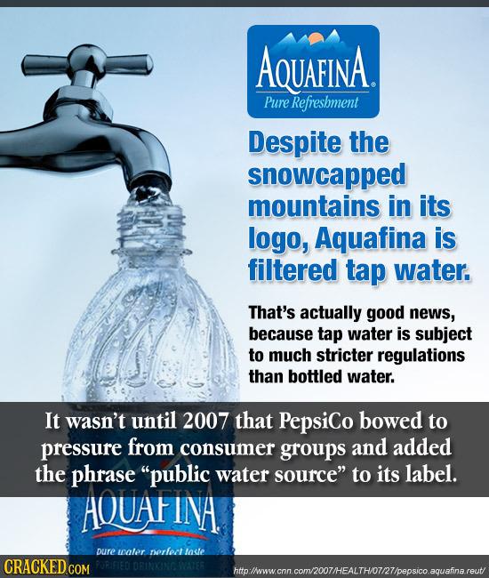 aquafina advertisements