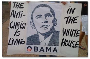 Image result for Obama horns antichrist