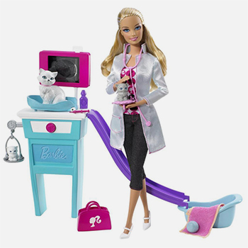 The 4 most baffling career themed barbie dolls - Barbie veterinaire ...