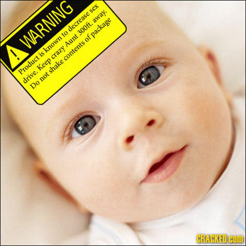If Everything In Life Came With Warning Labels