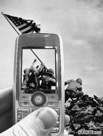 17 Great Historical Moments Ruined by Modern Technology