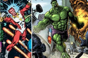 The 7 Most Hilariously Mismatched Superhero Battles