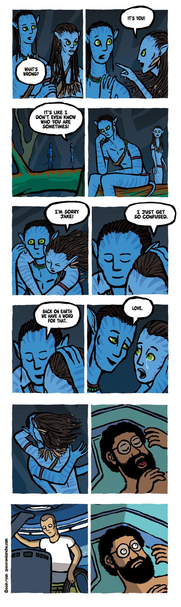 Avatar's Most Awkward Deleted Scene [COMIC]