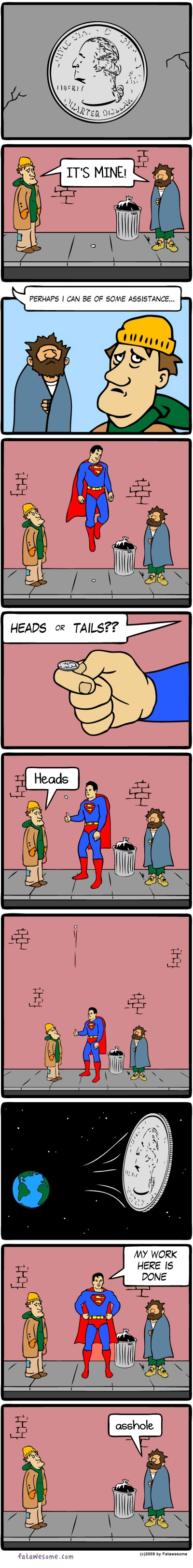 When Superman Is Bored [COMIC]