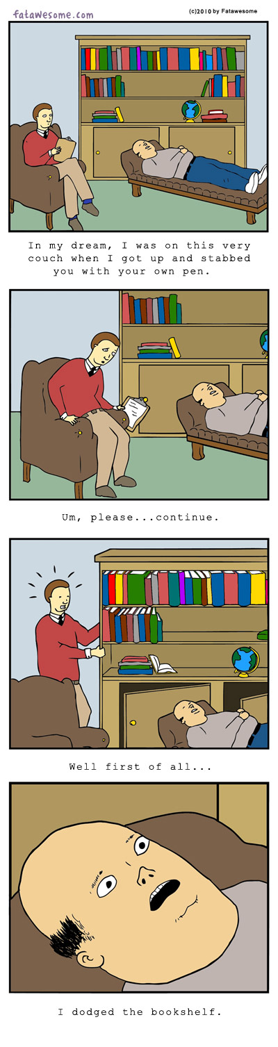 How to Freak Out Your Psychiatrist [COMIC]