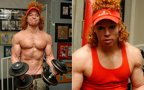 Celebrity Ripped Club: 8 Non-Athletes Who've Gotta Be On Steroids