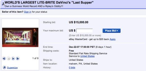 The 12 Most Awesomely Ridiculous eBay Auctions